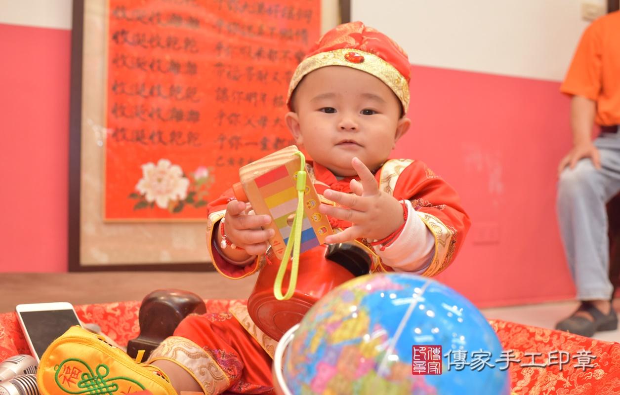 台中市北區吳寶寶古禮抓周祝福活動。2021.02.28 照片3