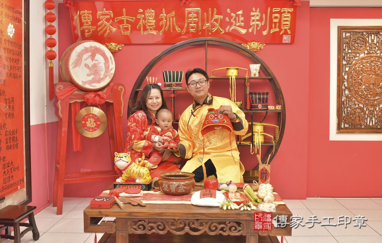 台中市北區吳寶寶古禮抓周祝福活動。2021.02.28 照片4