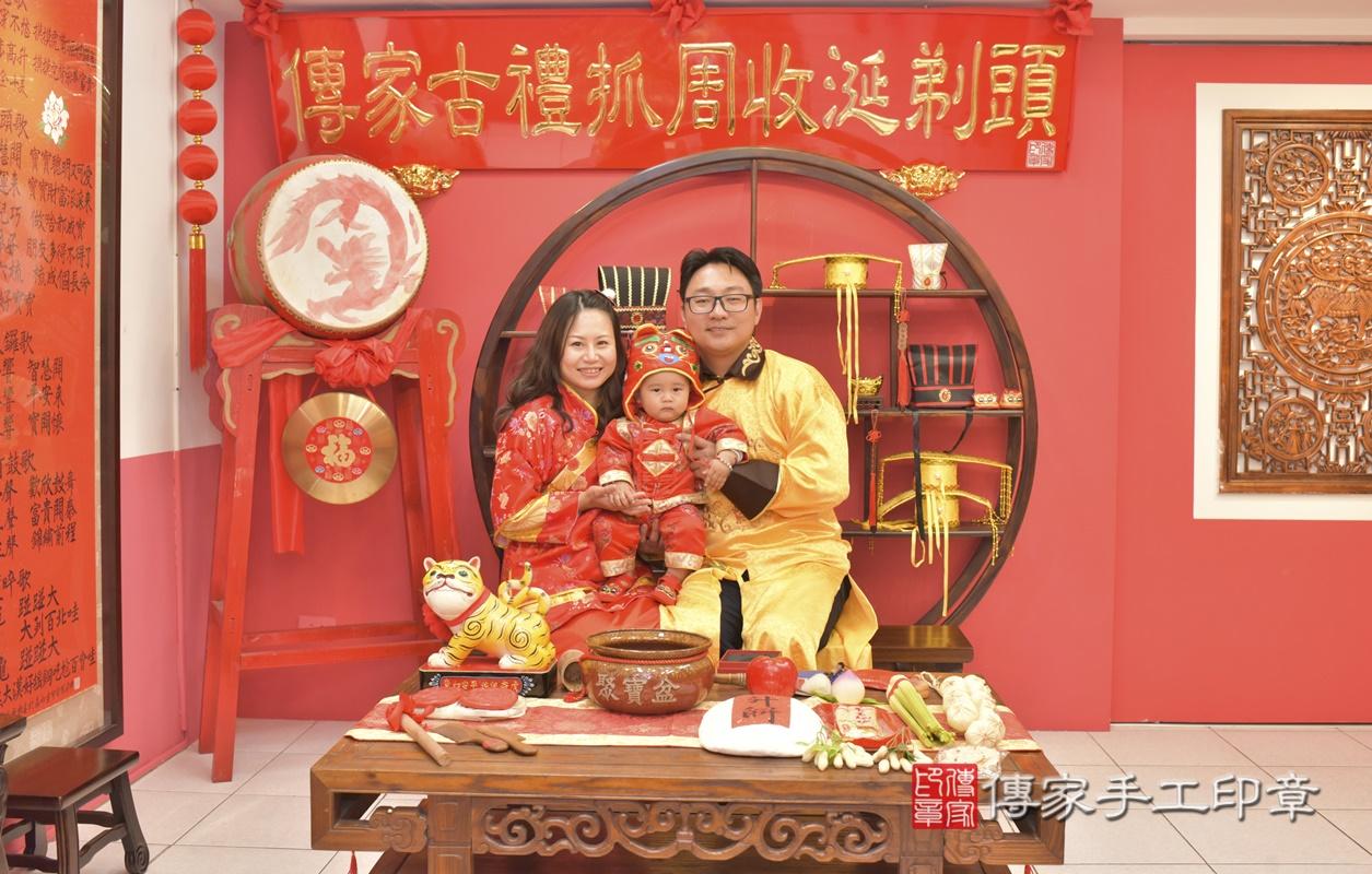 台中市北區吳寶寶古禮抓周祝福活動。2021.02.28 照片7