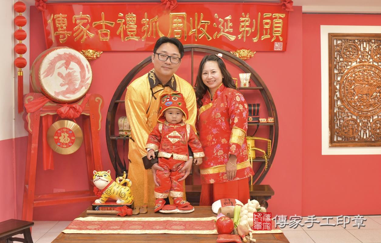 台中市北區吳寶寶古禮抓周祝福活動。2021.02.28 照片11