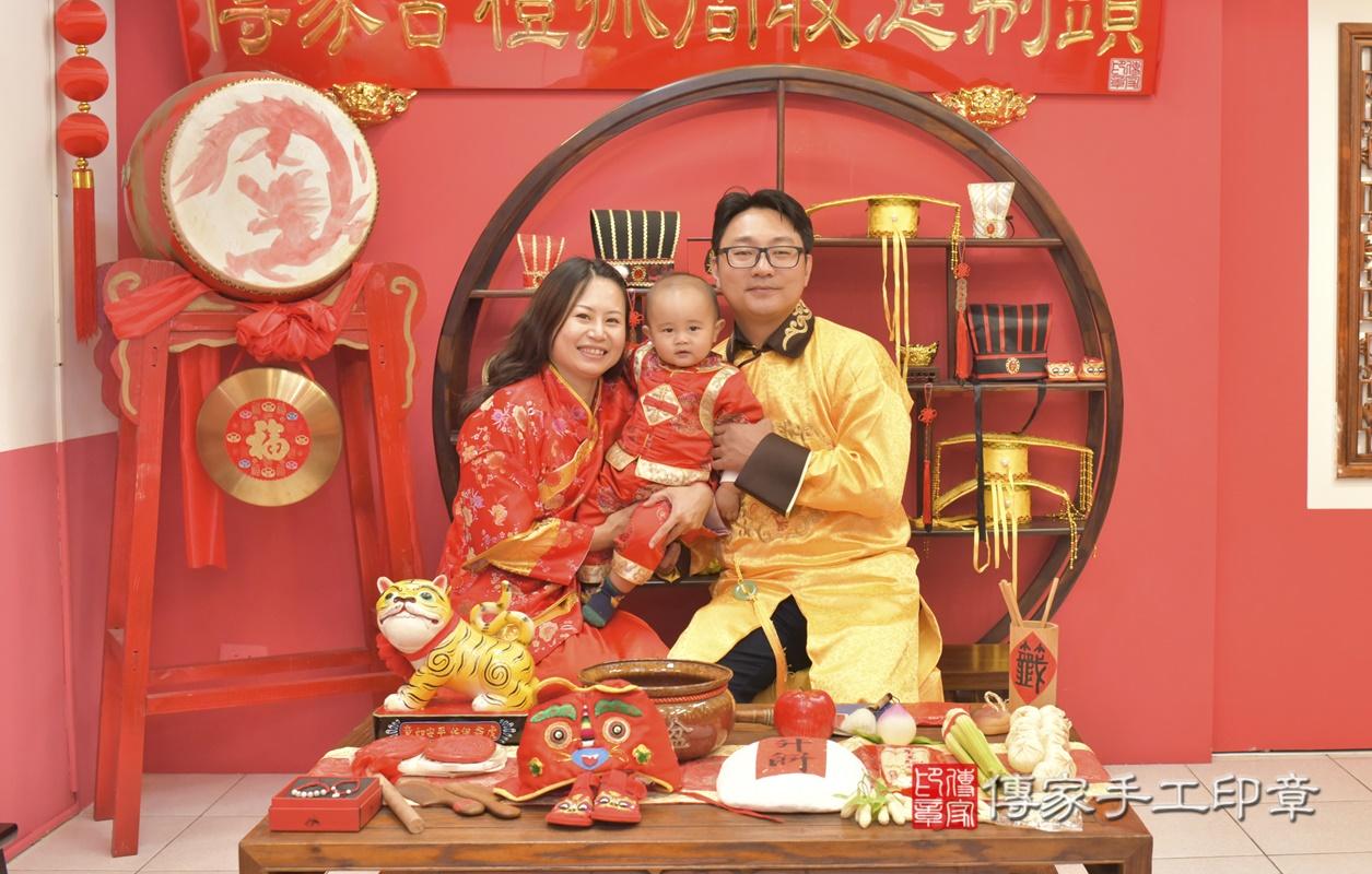 台中市北區吳寶寶古禮抓周祝福活動。2021.02.28 照片13