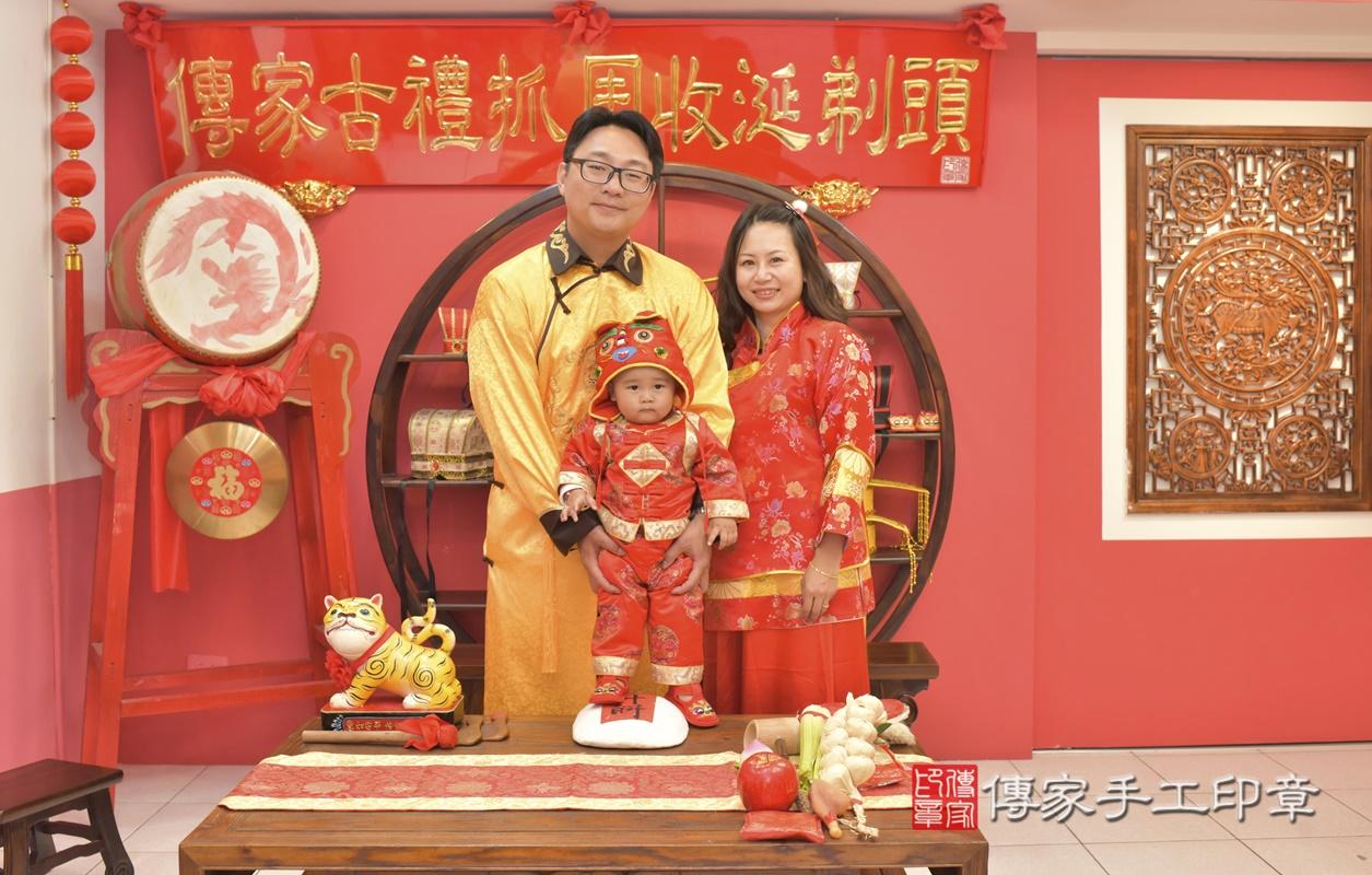 台中市北區吳寶寶古禮抓周祝福活動。2021.02.28 照片23