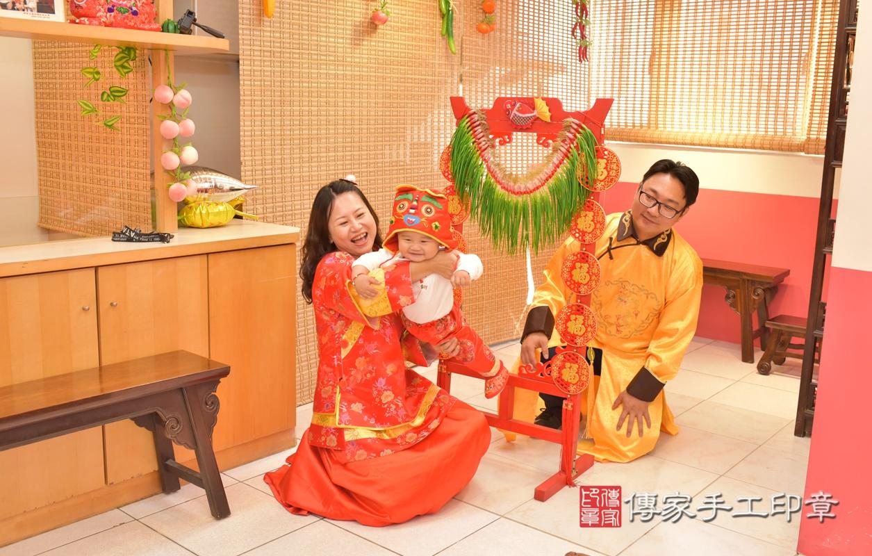 台中市北區吳寶寶古禮抓周祝福活動。2021.02.28 照片24