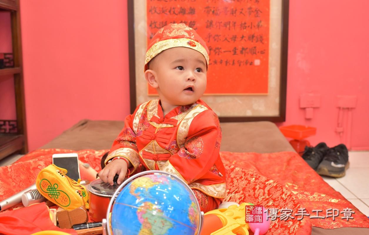 台中市北區吳寶寶古禮抓周祝福活動。2021.02.28 照片27