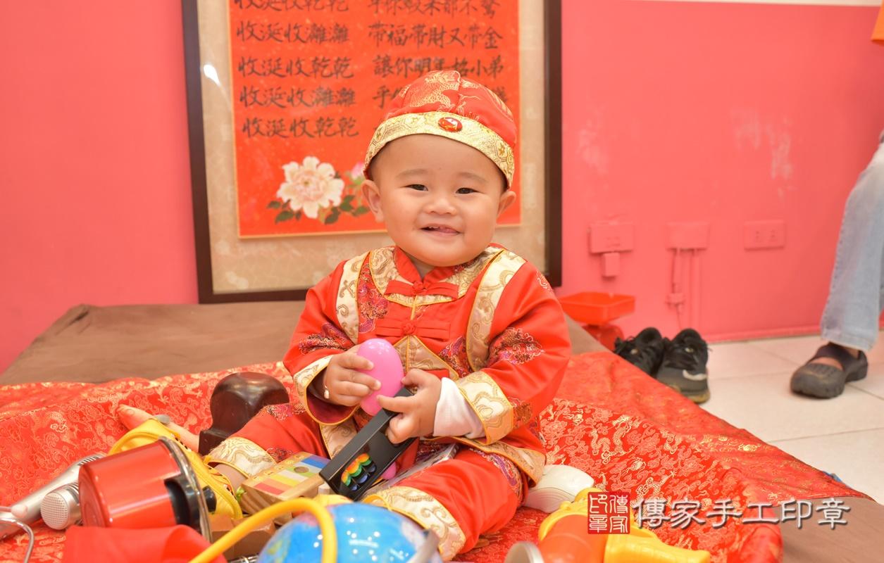 台中市北區吳寶寶古禮抓周祝福活動。2021.02.28 照片30