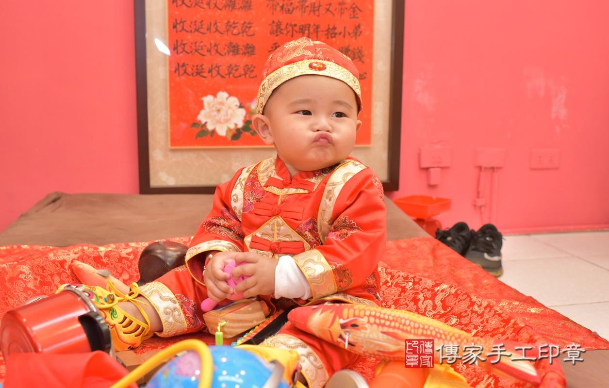 台中市北區吳寶寶古禮抓周祝福活動。2021.02.28 照片31