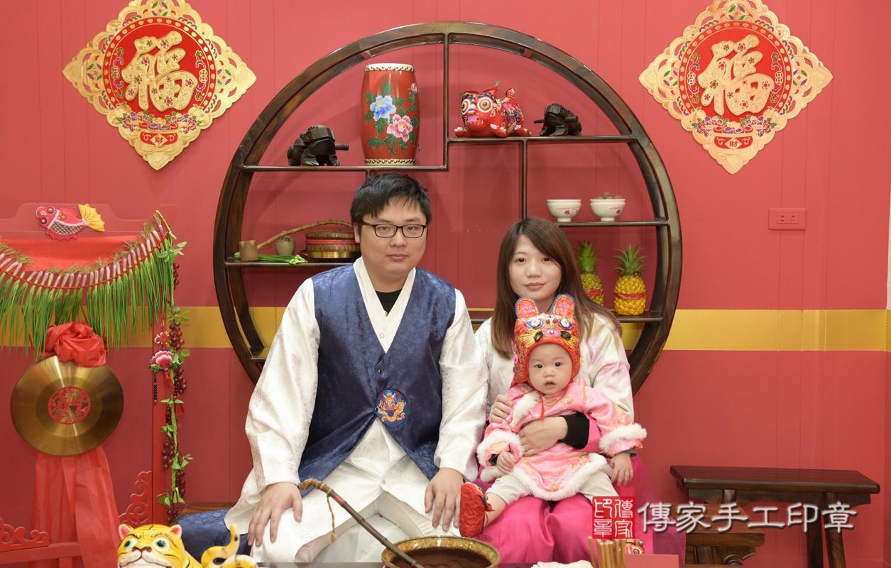 桃園市八德區李寶寶古禮抓周祝福活動。2020.12.31 照片3