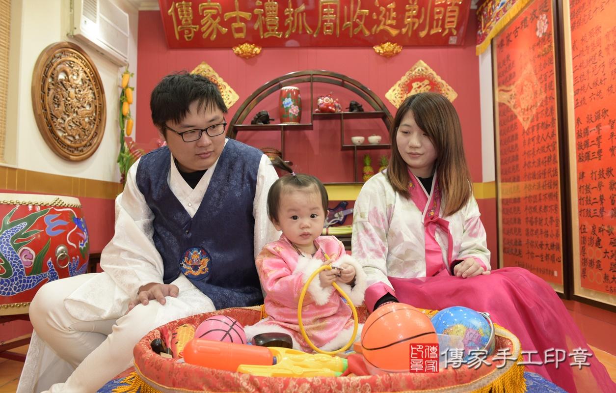 桃園市八德區李寶寶古禮抓周祝福活動。2020.12.31 照片28