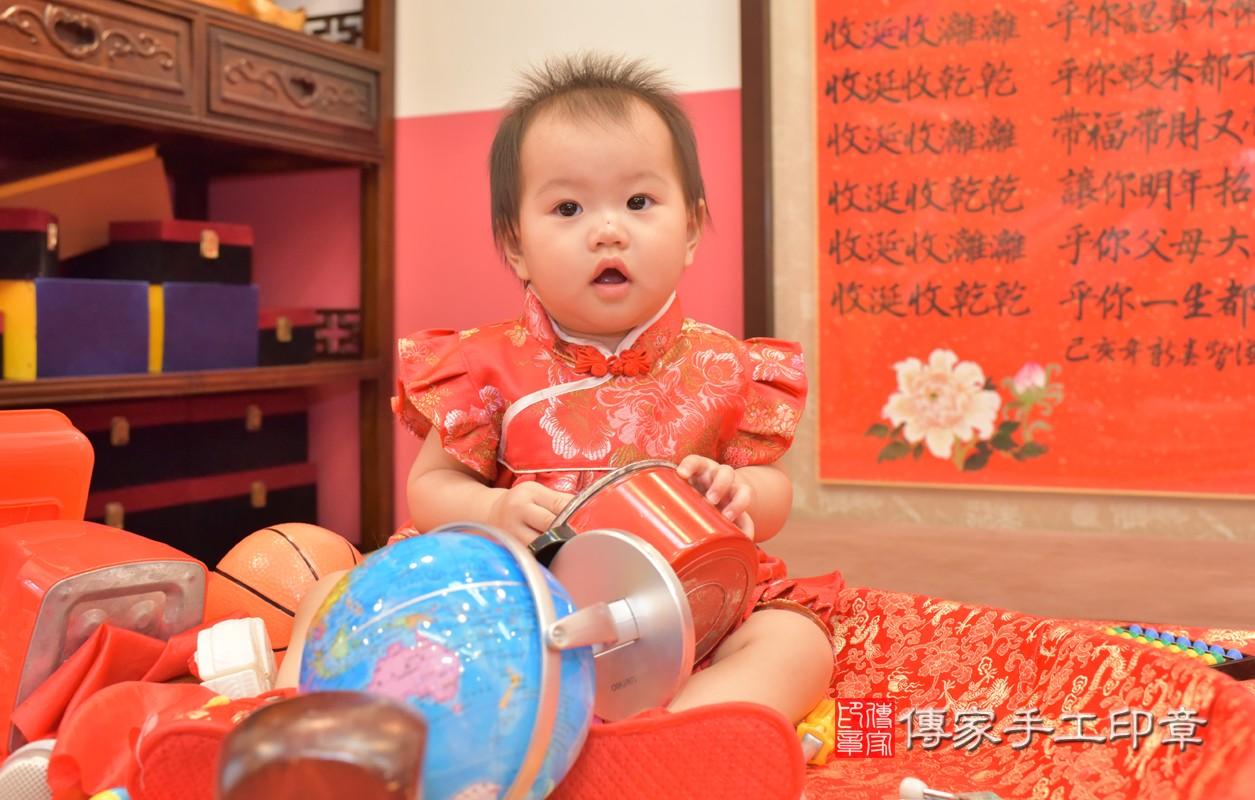 台中市北區郭寶寶周歲抓周