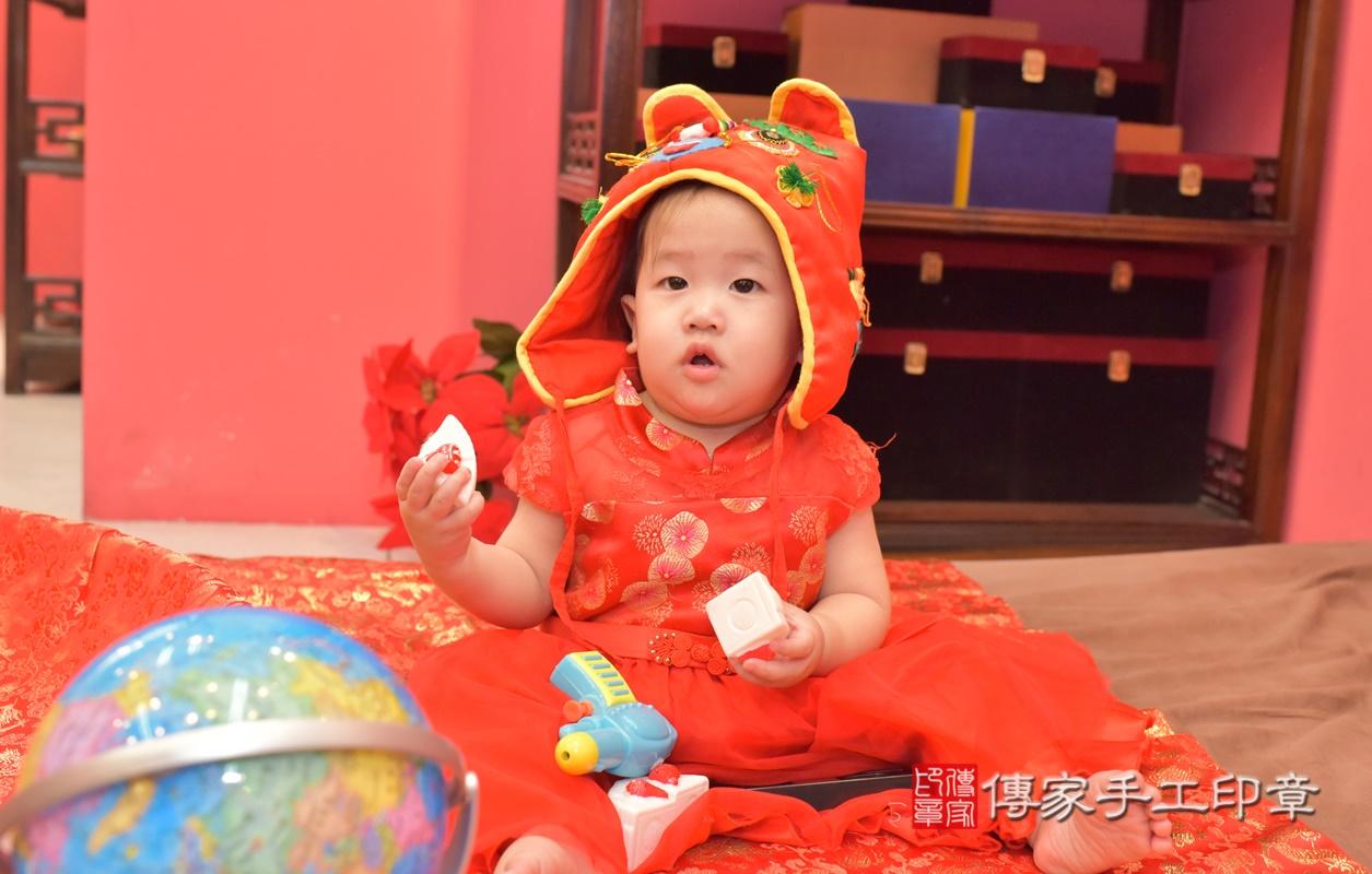 台中市北區陳寶寶古禮抓周祝福活動。2021.04.10 照片4