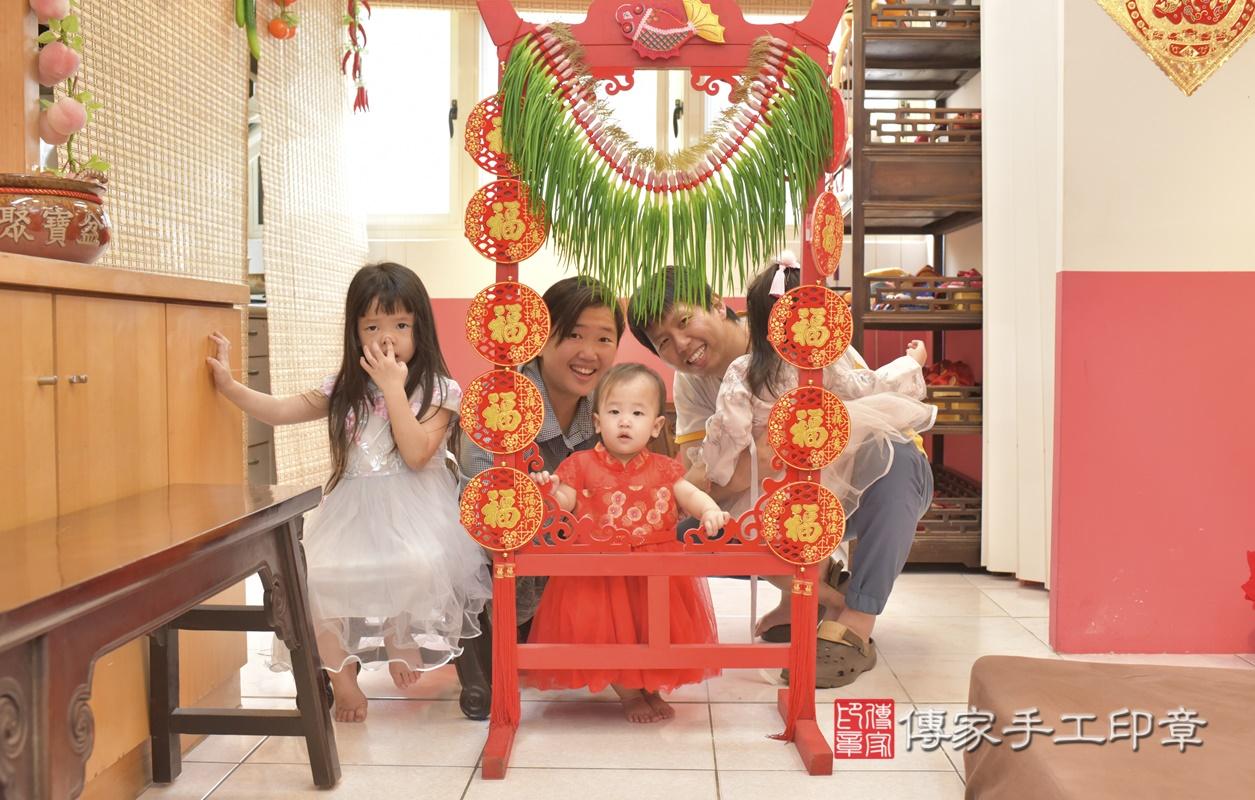 台中市北區陳寶寶古禮抓周祝福活動。2021.04.10 照片18