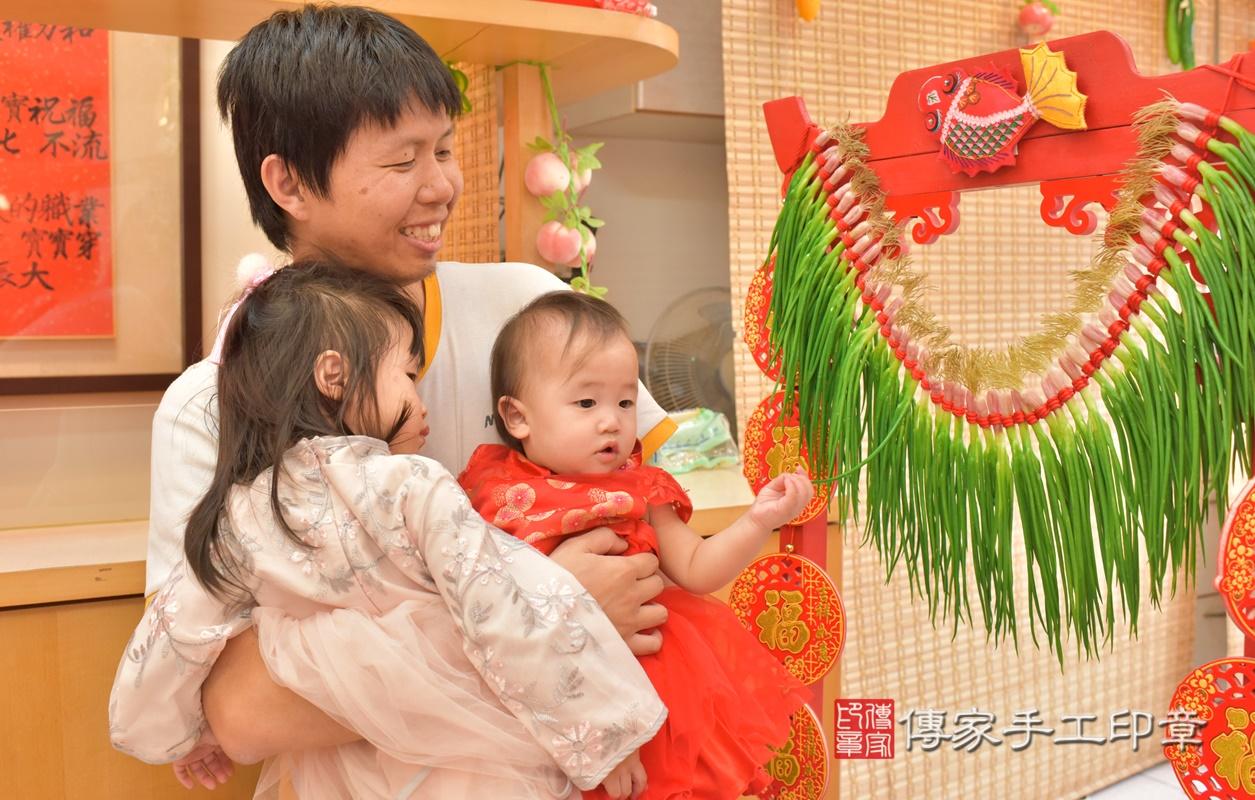 台中市北區陳寶寶古禮抓周祝福活動。2021.04.10 照片19