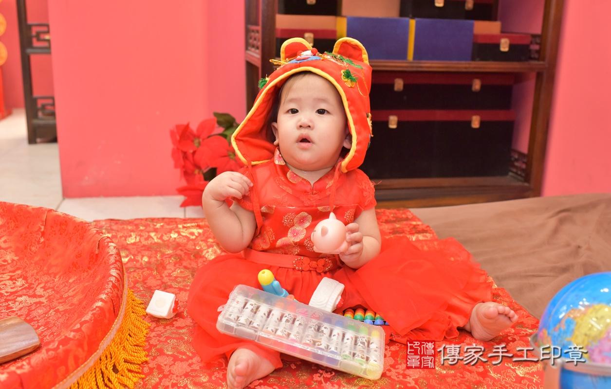 台中市北區陳寶寶古禮抓周祝福活動。2021.04.10 照片21