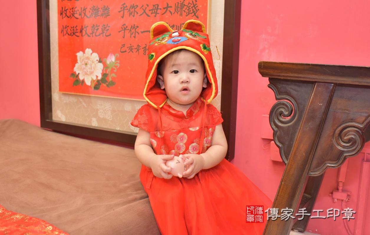 台中市北區陳寶寶古禮抓周祝福活動。2021.04.10 照片22