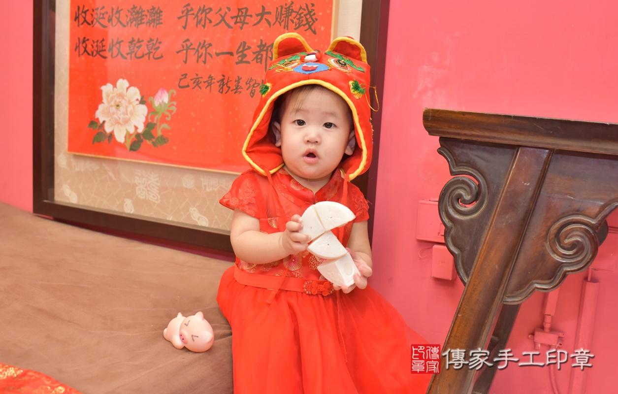 台中市北區陳寶寶古禮抓周祝福活動。2021.04.10 照片24