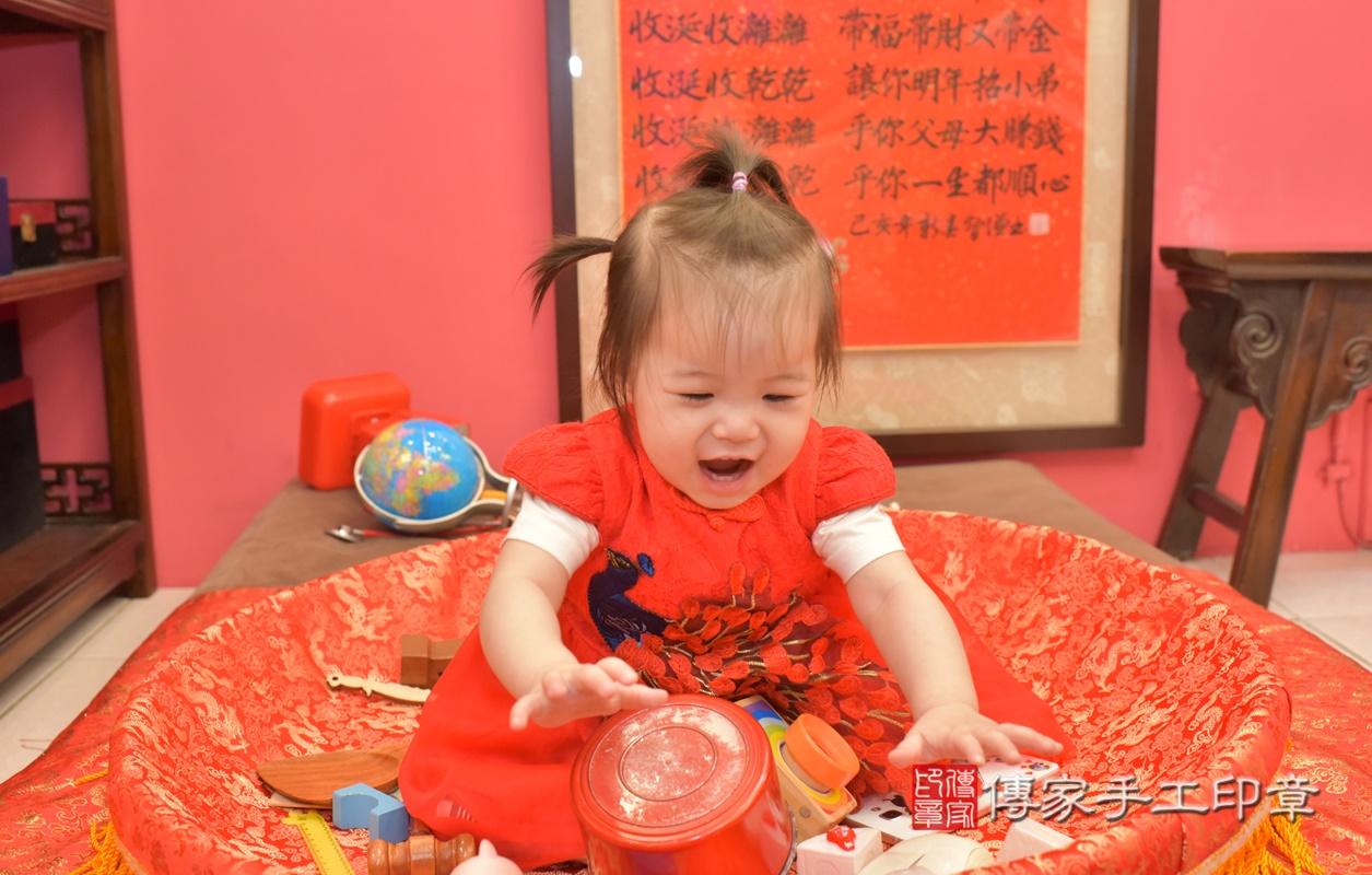 台中市北區黃寶寶古禮抓周祝福活動。2021.04.04 照片2