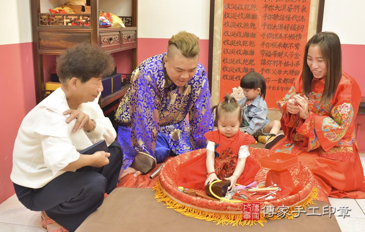 台中市北區黃寶寶古禮抓周祝福活動。2021.04.04 照片3