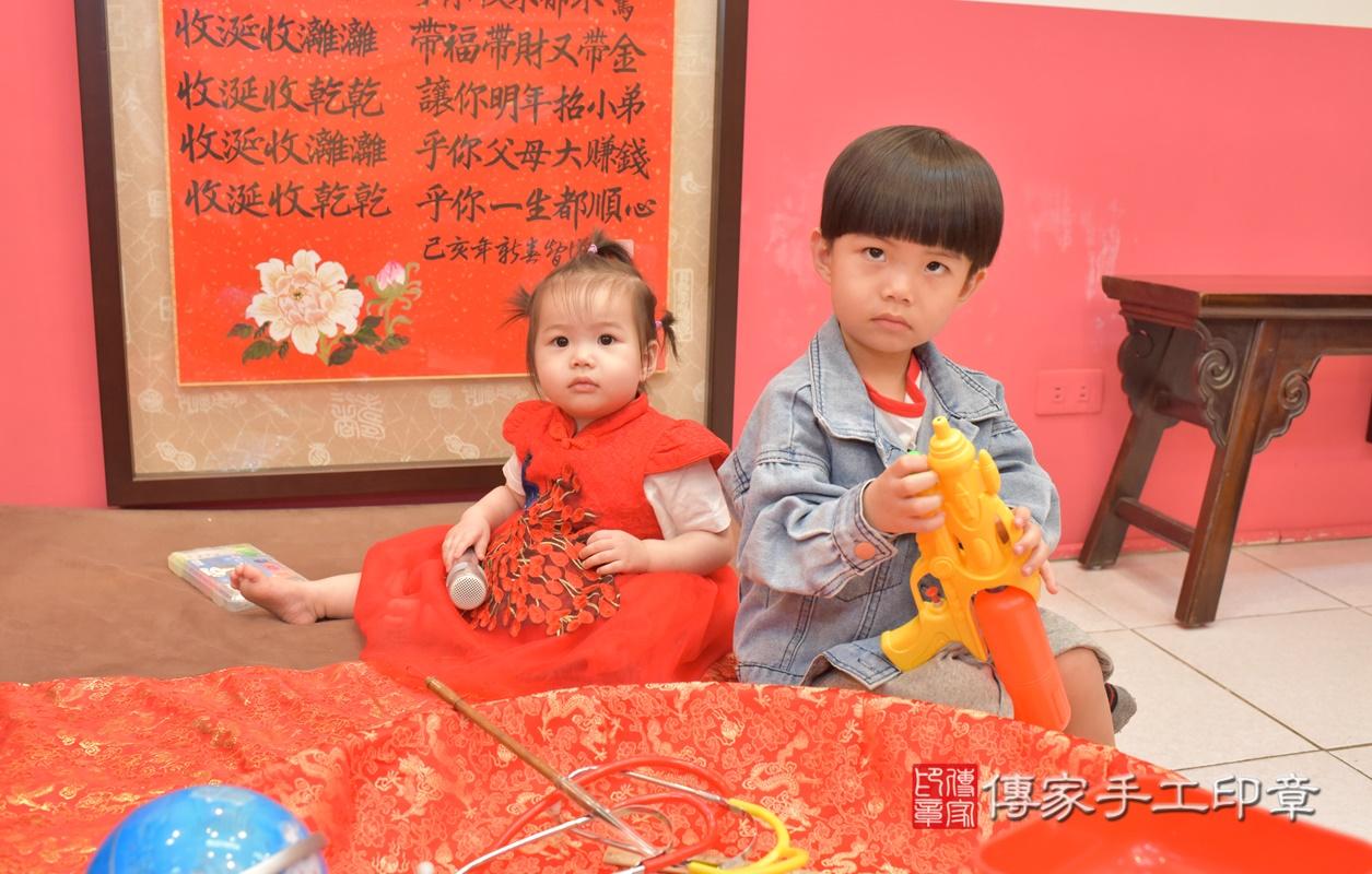 台中市北區黃寶寶古禮抓周祝福活動。2021.04.04 照片18