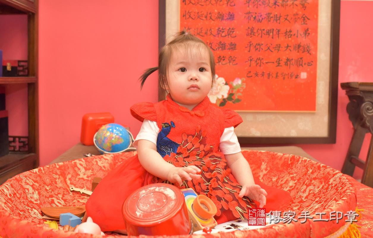 台中市北區黃寶寶古禮抓周祝福活動。2021.04.04 照片20