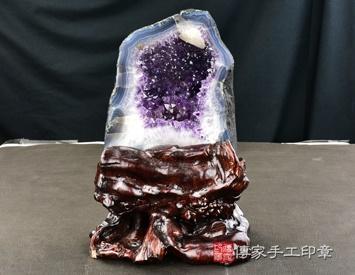 紫晶洞擺件