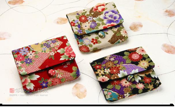 贈送日式風格的純手工印章袋子