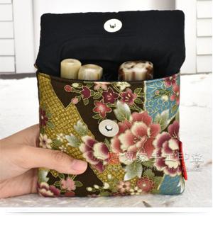公司印章印章手工袋,一大兩小,也可以放入在手工袋裡面,方便顧客攜帶。示意圖
