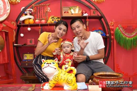 今天北區謝寶寶周歲抓周活動和儀式照片5