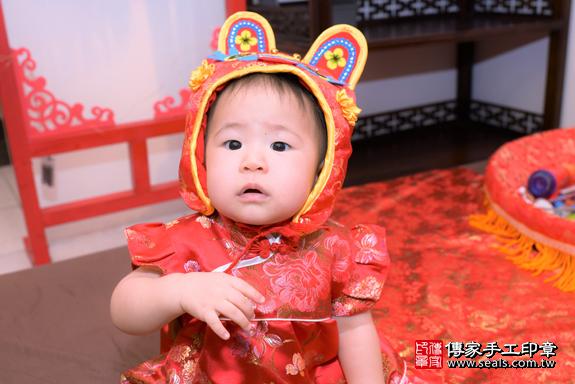 藍寶寶周歲抓周活動和儀式1