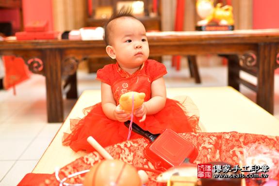 鳳山區謝寶寶古禮抓周:周歲抓周活動和儀式,一切圓滿。照片23
