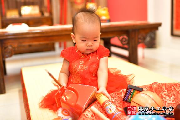 鳳山區謝寶寶古禮抓周:周歲抓周活動和儀式,一切圓滿。照片24