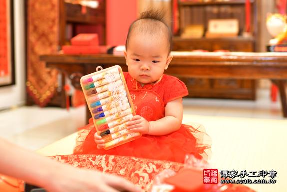 鳳山區謝寶寶古禮抓周:周歲抓周活動和儀式,一切圓滿。照片25