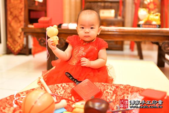 鳳山區謝寶寶古禮抓周:周歲抓周活動和儀式,一切圓滿。照片26