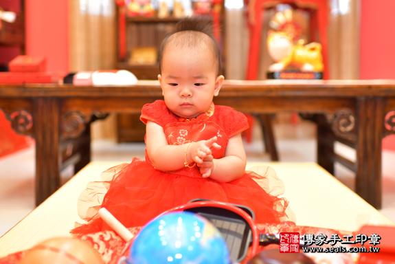 鳳山區林寶寶古禮抓周:周歲抓周活動和儀式,一切圓滿。照片29