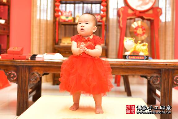 鳳山區謝寶寶古禮抓周:周歲抓周活動和儀式,一切圓滿。照片21