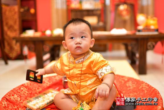 鳳山區賴寶寶古禮抓周:周歲抓周活動和儀式,一切圓滿。照片31