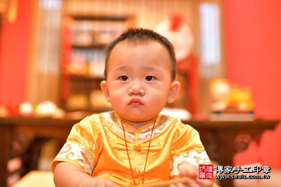 鳳山區賴寶寶古禮抓周:周歲抓周活動和儀式,一切圓滿。照片32