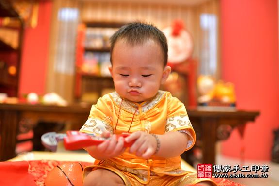 鳳山區賴寶寶古禮抓周:周歲抓周活動和儀式,一切圓滿。照片34