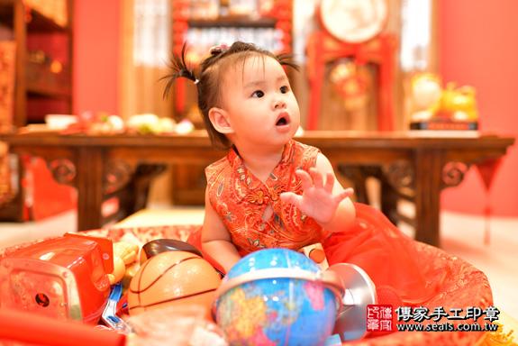 鳳山區魏寶寶古禮抓周:周歲抓周活動和儀式,一切圓滿。照片31