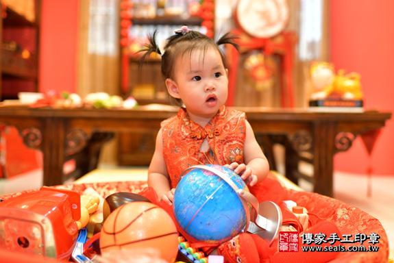 鳳山區魏寶寶古禮抓周:周歲抓周活動和儀式,一切圓滿。照片32