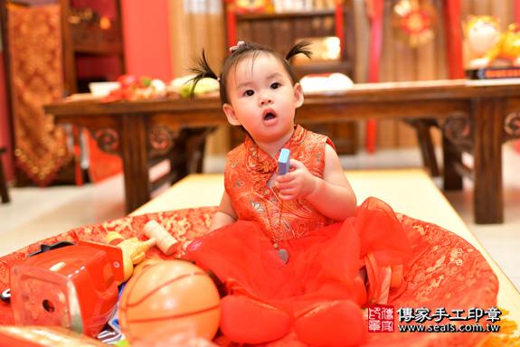 鳳山區魏寶寶古禮抓周:周歲抓周活動和儀式,一切圓滿。照片33