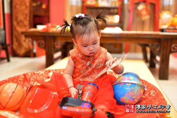 鳳山區魏寶寶古禮抓周:周歲抓周活動和儀式,一切圓滿。照片35