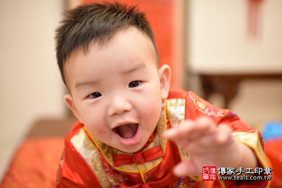 台中市北區謝寶寶古禮抓周祝福活動:傳家台中市抓周專業中國風會場照片6