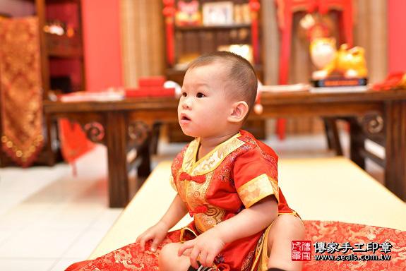 鳳山區陳寶寶古禮抓周:周歲抓周活動和儀式,一切圓滿。照片16