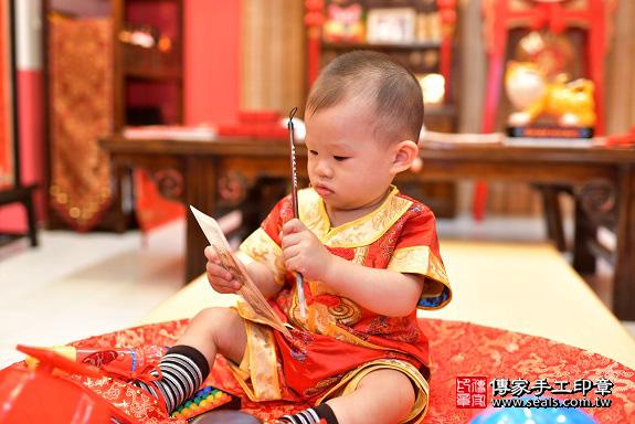 鳳山區陳寶寶古禮抓周:周歲抓周活動和儀式,一切圓滿。照片17