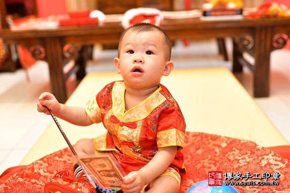鳳山區陳寶寶古禮抓周:周歲抓周活動和儀式,一切圓滿。照片18