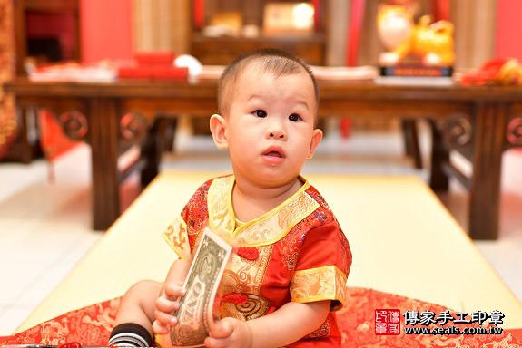 鳳山區陳寶寶古禮抓周:周歲抓周活動和儀式,一切圓滿。照片19