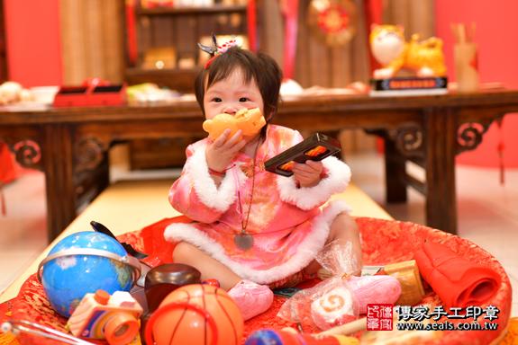 鳳山區吳寶寶古禮抓周:周歲抓周活動和儀式,一切圓滿。照片33