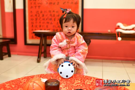 鳳山區吳寶寶古禮抓周:周歲抓周活動和儀式,一切圓滿。照片35