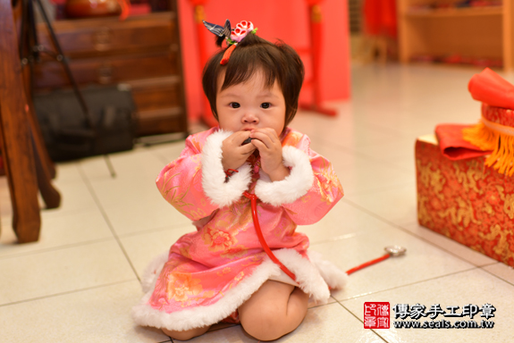鳳山區吳寶寶古禮抓周:周歲抓周活動和儀式,一切圓滿。照片34