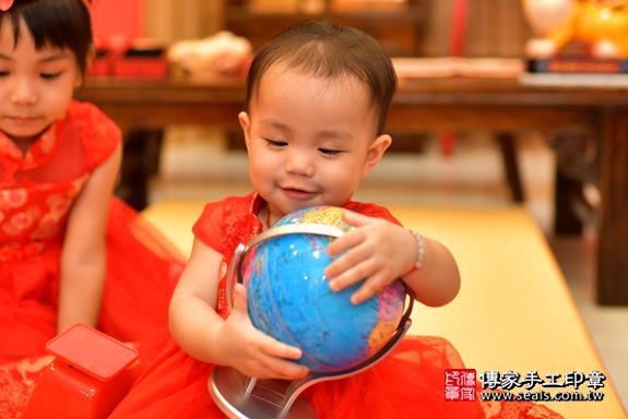鳳山區梁寶寶古禮抓周:周歲抓周活動和儀式,一切圓滿。照片39